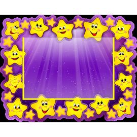 Стенд в стиле группы Звездочки с горизонтальным карманом А4