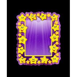 Стенд в стиле группы Звездочки с вертикальным карманом А5